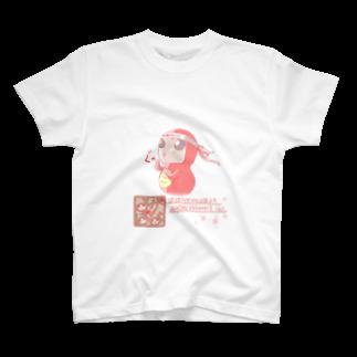だるまよがのガッツポーズ T-shirts