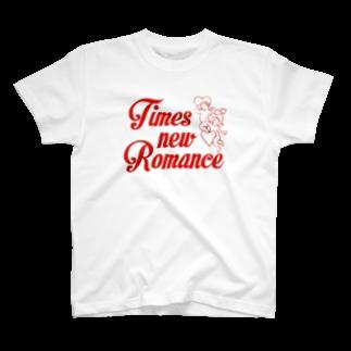 kameyoui (カミユイ)のtimes new romance T-shirts