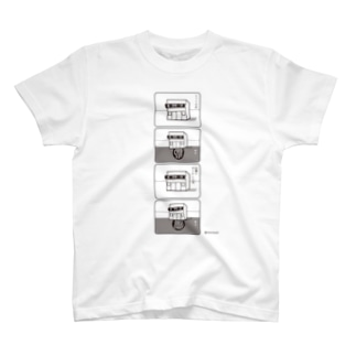てんぽさんの4コママンガ T-shirts