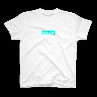 warehouseのInferior T-shirts