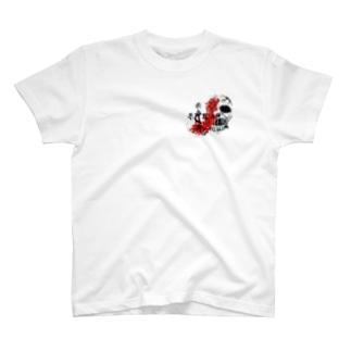 髑髏。 T-shirts
