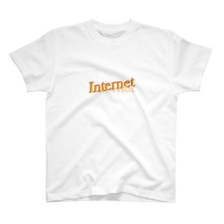 インターネット T-shirts