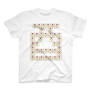 干支文字-酉-animal up-アニマルアップ- T-shirts