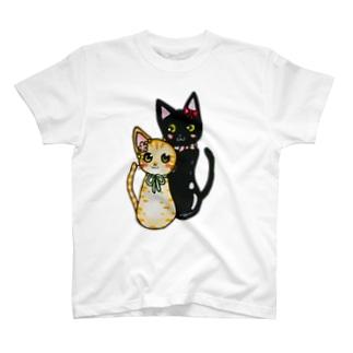 こけしねこ T-shirts