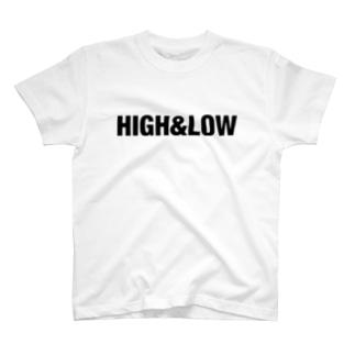 HIGH&LOW T-shirts