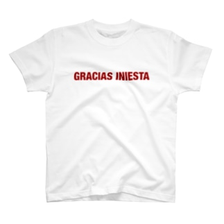 GRACIAS INIESTA T-shirts