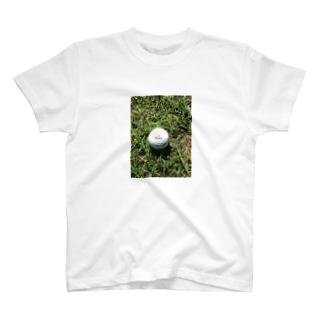 青空白球一直線 T-shirts