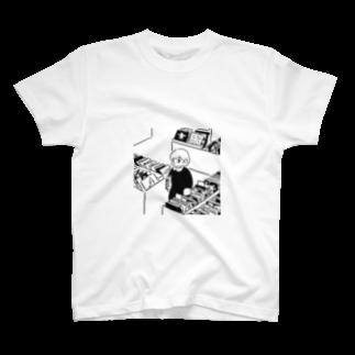 ささきわたのレコード店 T-shirts