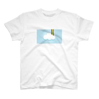 雲のように虹のように T-shirts