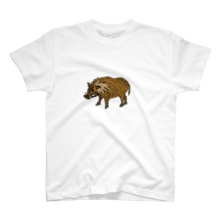 イノシシのボンジョさん T-shirts