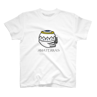 AMATERRAS with letters. T-shirts