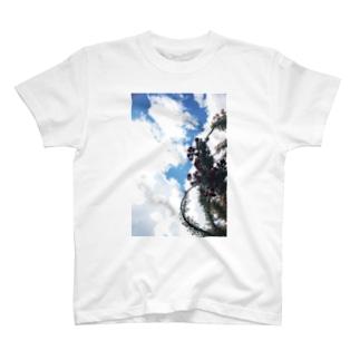 オープンハート T-shirts