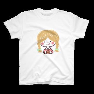 bonheur*のおやつの時間Tシャツ。 T-shirts