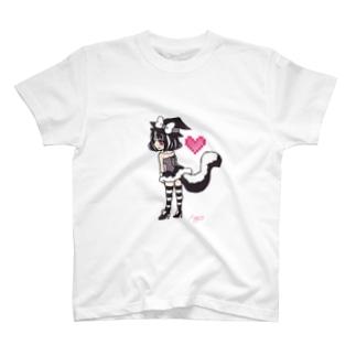スカンクハート T-shirts