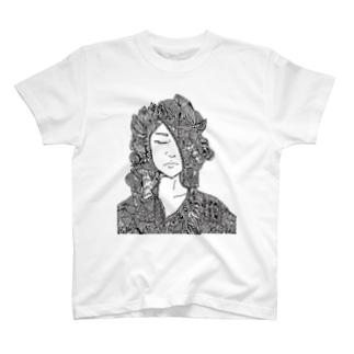 見馴れた顔 T-shirts