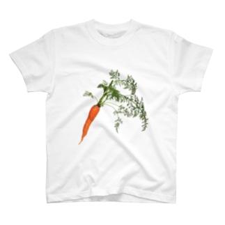 にんじん Tシャツ