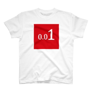 0.01(赤) T-shirts