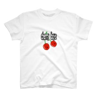 cherry boys T-shirts