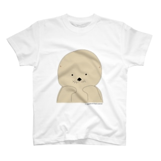 ラッコの「らー」ほおづえver. T-shirts