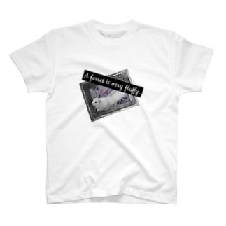 フェレットアンティーク T-shirts