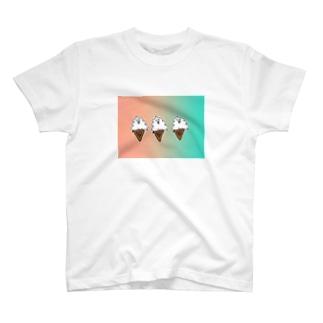 オシャンティ高いソフトクリーム T-shirts