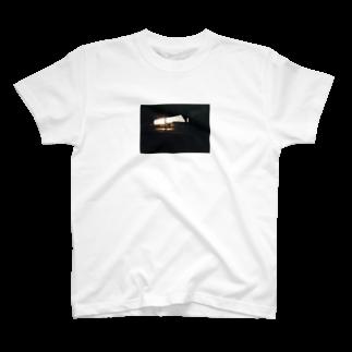結希の駐輪場(夕日)T T-shirts