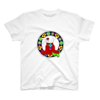 うさぎと手毬 T-shirts