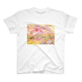 南陽台の夕日 T-shirts