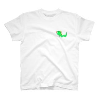 きょうりゅうへびさん T-shirts