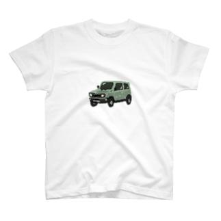 ドットクロカン車 T-shirts