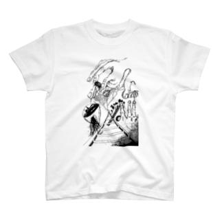 葡萄酒と関節 T-shirts