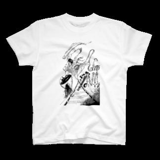 ko-1の葡萄酒と関節 T-shirts