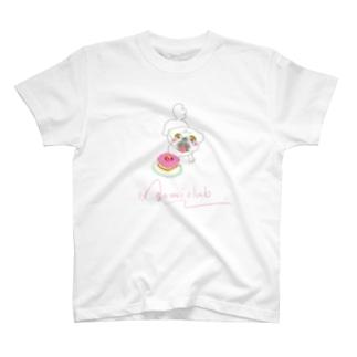 hagumiclub紅芋ケーキTシャツ T-shirts