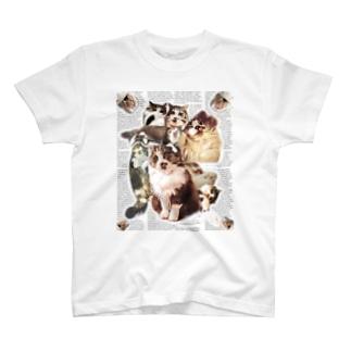 ネコラージュ T-shirts