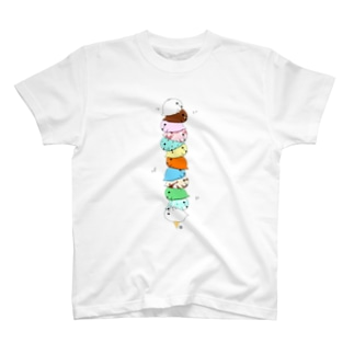 ゆきもちアイス T-shirts