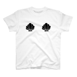貝殻バスト T-shirts