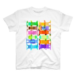 しゃーしわかるかな T-shirts