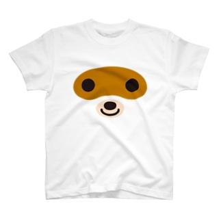 タヌキ-animal up-アニマルアップ- T-shirts