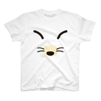 キツネ-animal up-アニマルアップ- T-shirts