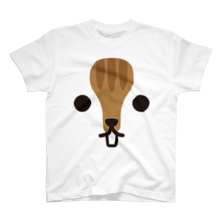 リス-animal up-アニマルアップ- T-shirts
