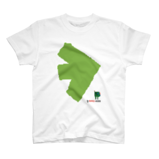 BIRD-KISSのNEW-BIRD-03-FOOT Tシャツ T-shirts