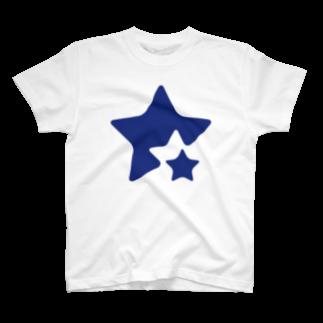 ユアマイストアのネイビースター T-shirts