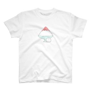かきごりはむちゃん T-shirts