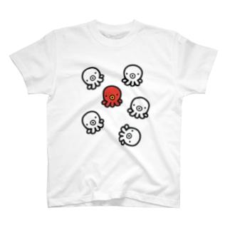 た紅一点 T-shirts
