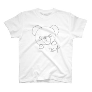 くま2 T-shirts