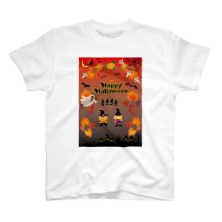 クレコちゃんのハロウィン大仮装パレード T-shirts