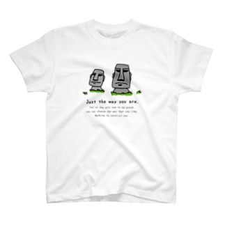 Just the way you are_moai_3 T-shirts