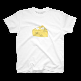 すいすいのチーズねずみ T-shirts