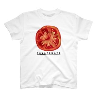 輪切りトマト T-shirts