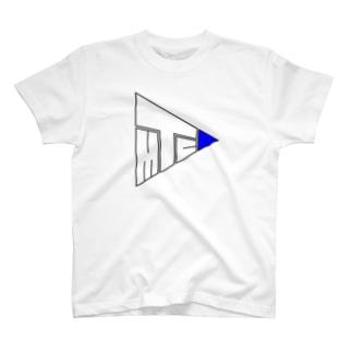 TMC青の方 T-shirts